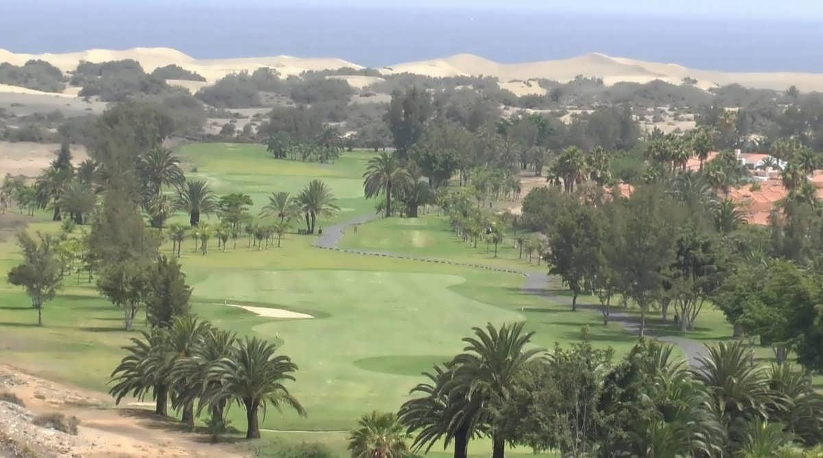 гран-канария поля для гольфа