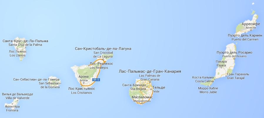 канарские острова особенности