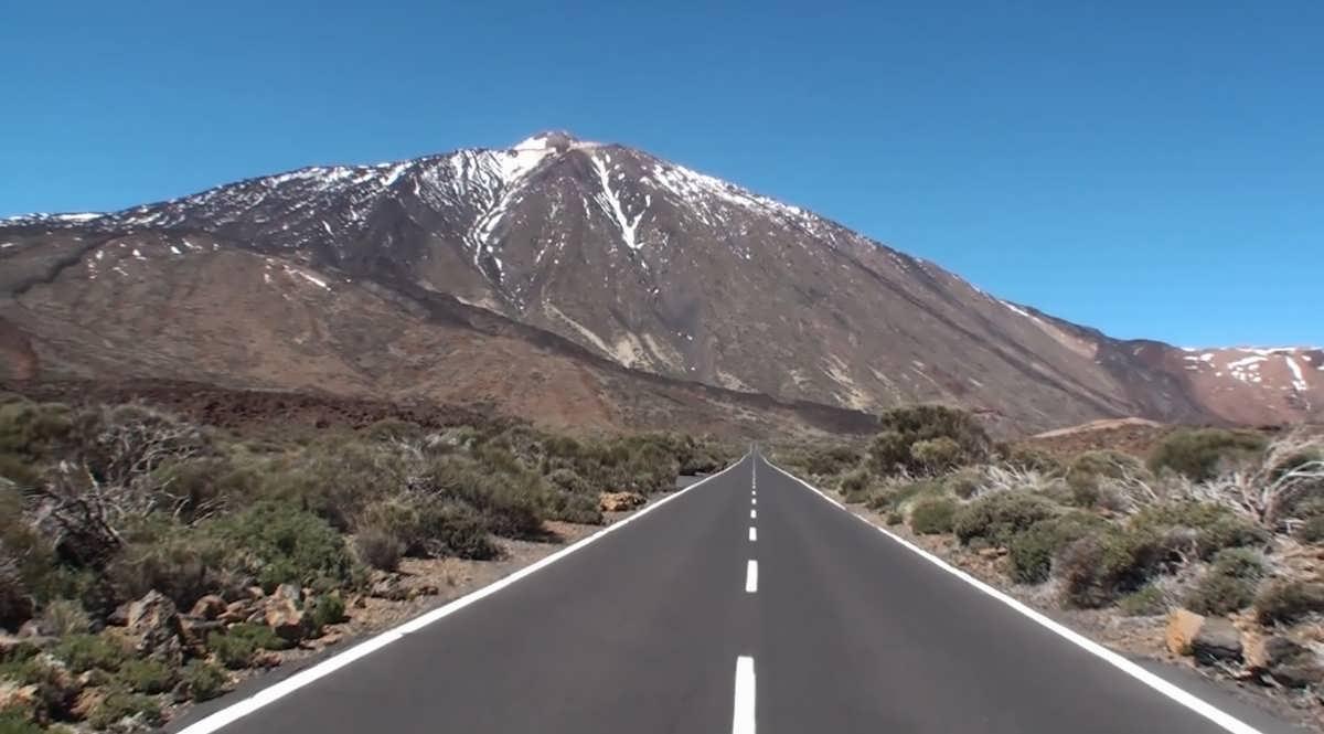 дорога на Тенерифе